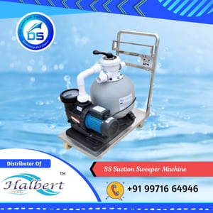 SS Suction Sweeper Machine