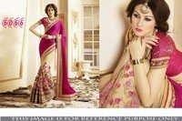 Stylish Designer Party Wear Georgette Saree