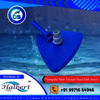 Triangular Liner Vacuum Head With Swivel