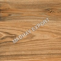 Cubical Wood Brown Polished Vitrified Tiles