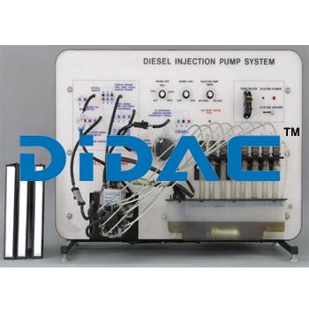 Diesel Injection Pump System Trainer