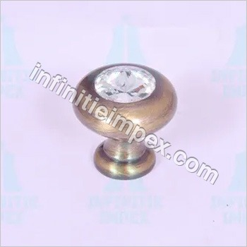 Brass Diamond Door Knob