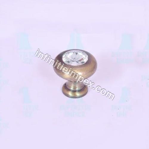Brass Diamond Door Knob