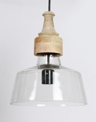 GLASS CROM PENDANT LAMP