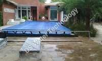 Swimming Pool Cover With SS Roller