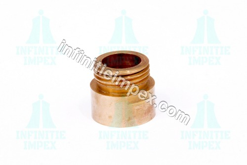 Short Brass Extension Nipple