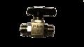 Half inch nut & ferrule ball valve