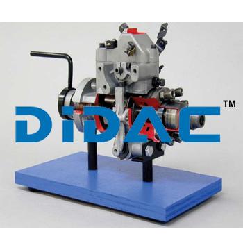 Diesel Rotary Pump Cutaway
