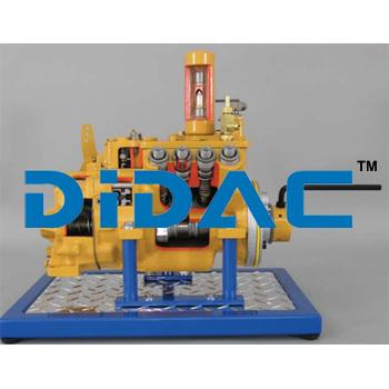 Diesel Sleeve Metering Pump Cutaway