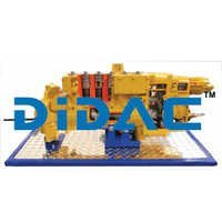 Diesel Scroll Metering Pump Cutaway Trainer