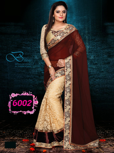 Exclusive Designer Party Wear Stylish Saree