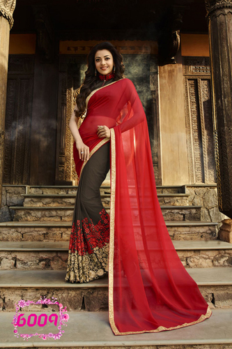 Designer Party Wear Stylish Saree