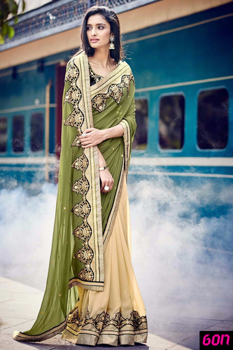 Stylish Designer Party Wear Ethnic Saree
