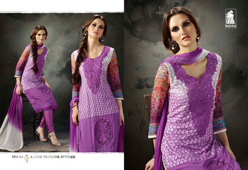 TEHZEEB Straight Salwar Kameez Wholesale