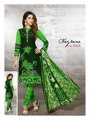 Meenaxi Cotton Printed Dress Material