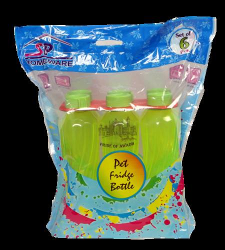 Plastic 6 Set fridge Jug Bottle