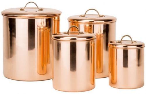 Pure Dutch Copper Canisters