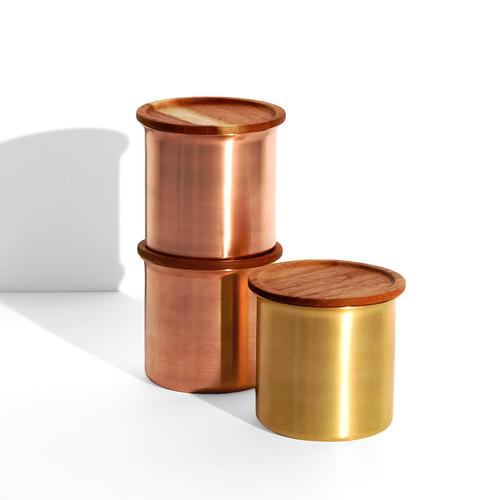 Stackable Copper Storage Jar