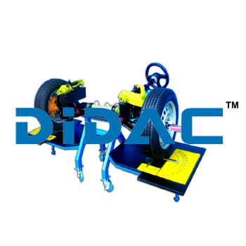 Front Wheel Alignment Trainer