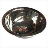 Footed Steel Bowl