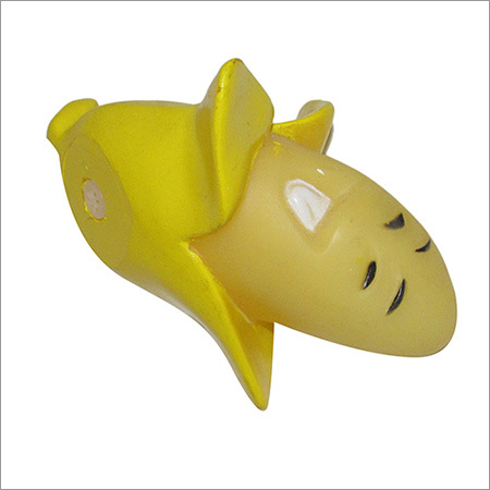 Dog Plastic Banana Toys