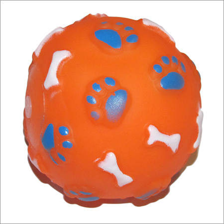 Dog Plastic Toy Ball