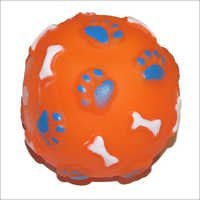 Dog Plastic Toy Ball
