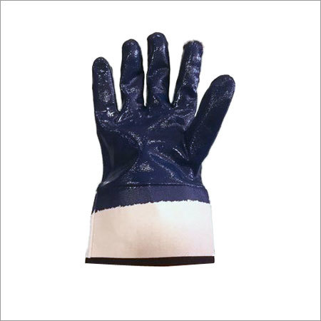 nitrile dipped hand gloves