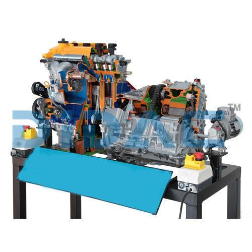 Hybrid Engine Cutaway