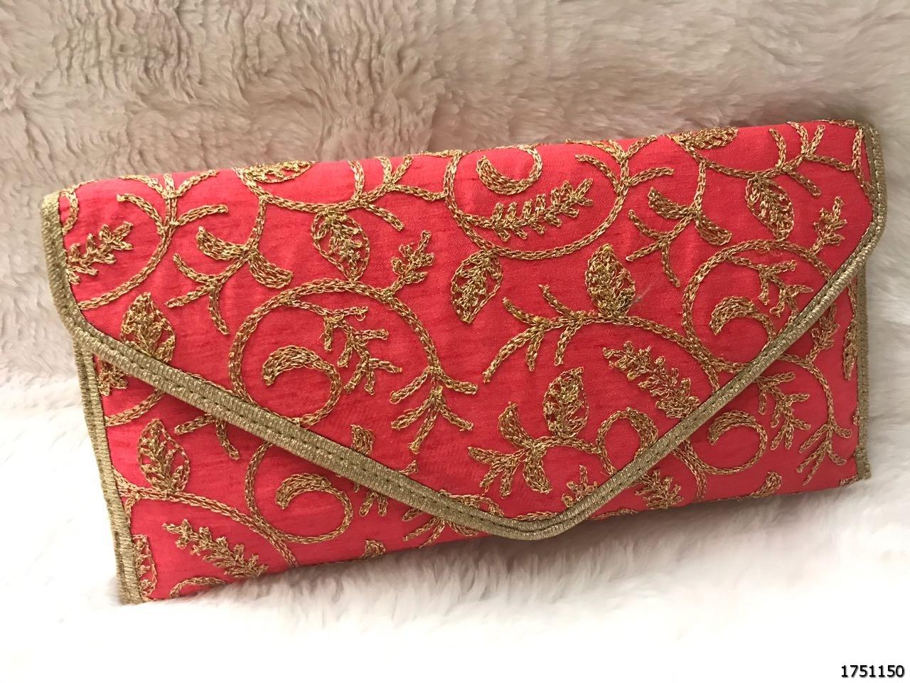 Designer Ethnic Evening Clutch Bag