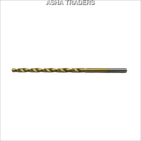 Tin Coated Hss Parallel Shank Drill