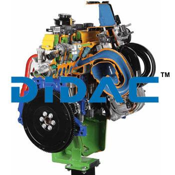 Petrol Engine Cutaway