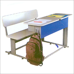 Double Student Bench