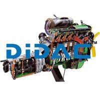 Multipoint Electronic Fuel Injection DOHC Petrol Engine Gearbox Cutaway