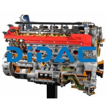 Petrol Engine Ferrari Cutaway
