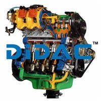 Multipoint Electronic Fuel Injection Petrol Engine FIAT Cutaway