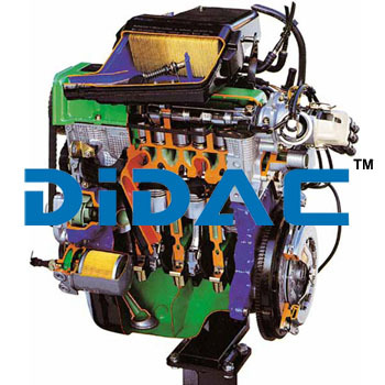 Monojetronic Electronic Fuel Injection Petrol Engine FIAT Cutaway