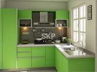 Malta L Shaped Modular Kitchen