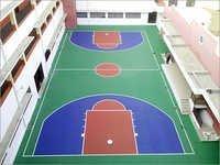 Basketball Court Jaipur Apex Int School