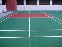 Synthetic Acrylic Badminton Court