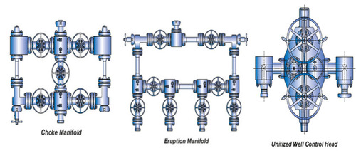 MANIFOLDS / UNITIZED WELL CONTROL HEAD / DATA HEAD