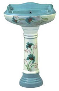 Vitrosa Set Pedestal Wash Basin