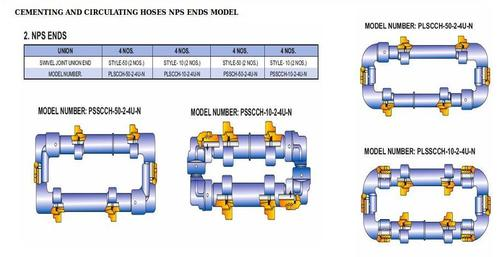 CEMENTING AND CIRCULATING HOSES NPS ENDS MODEL