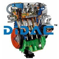 Common Rail Turbo Diesel Engine FIAT Alfa Romeo Cutaway