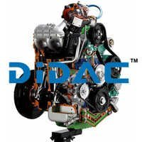 Direct Fuel Injection Turbo Diesel Engine For Car And Lorry Cutaway