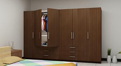 Plywood Laminated Wardrobes