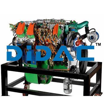 HGV Diesel Engine IVECO Turbostar Cutaway