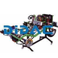 RWD Chassis With DOHC Multipoint EFI Petrol Engine Cutaway