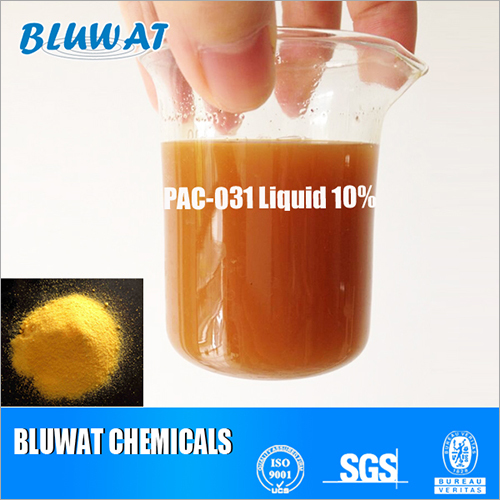 Textile waste water decolor processing agent