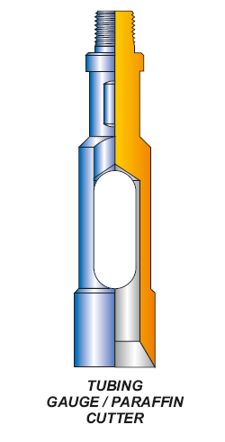 TUBING GAUGE / PARAFFIN CUTTER